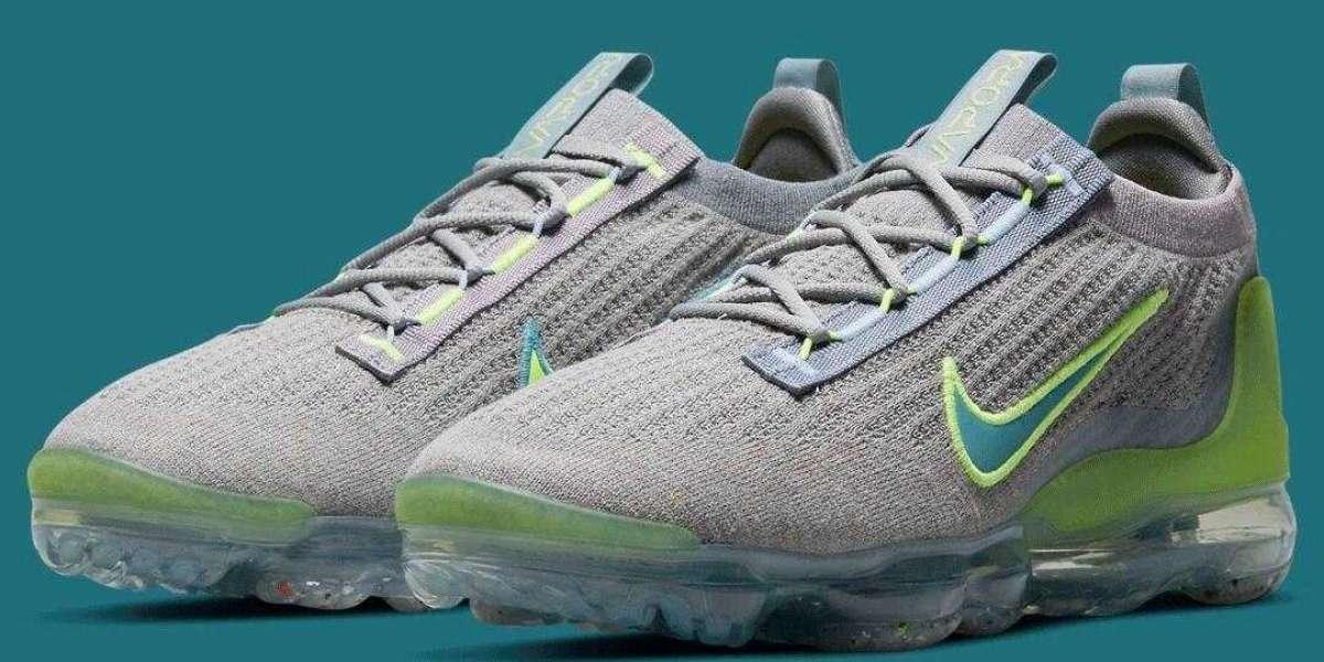 Nike VaporMax FlyKnit 2021 Grey Neon Green Release Soon