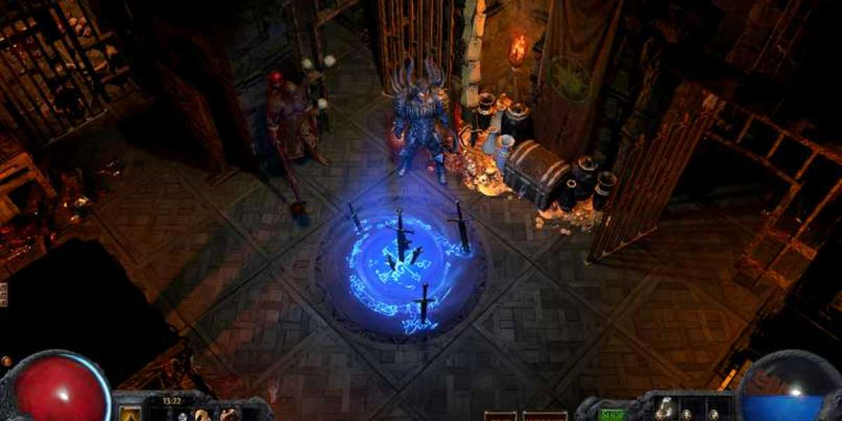 The role of various rare gems and currency in Path of Exile