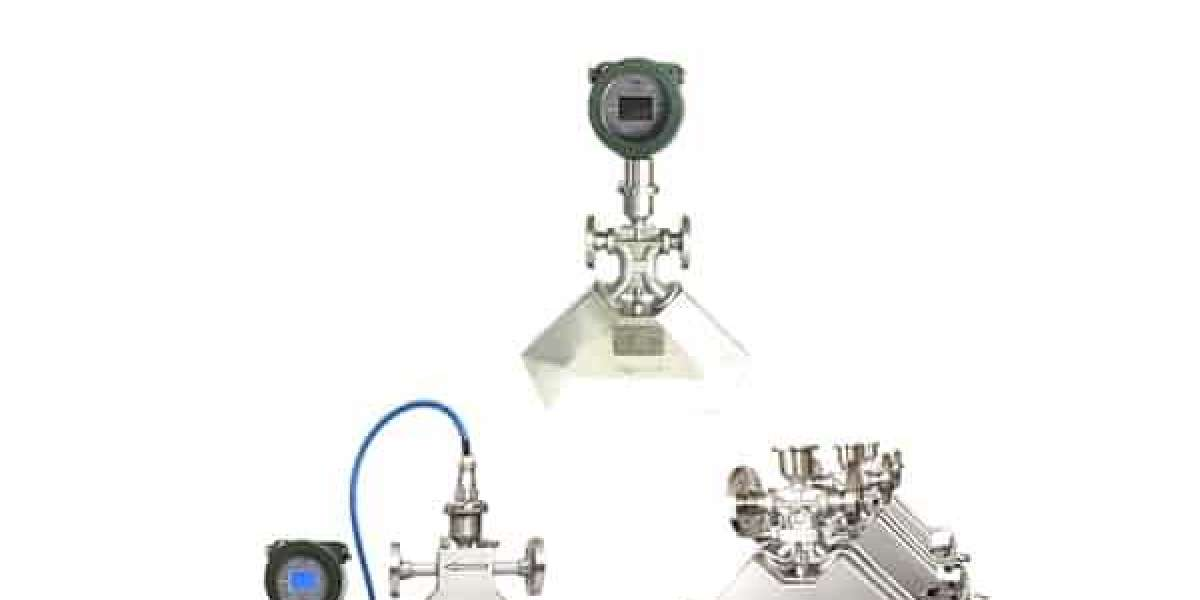 Working concept of gas mass flow meter and advantages